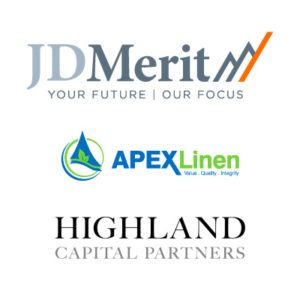 JD Merit, Apex Linen and Highland Capital Partners announce a growth capital investment deal.
